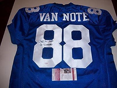 Jeff Van Note Signed Jersey - Kentucky Wildcats coa - JSA Certified - Autographed College Jerseys