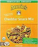 Annie's Cheddar Organic Bunnies Snack Mix, Cheddar, 9 oz, 4 Pack