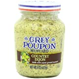 Grey Poupon Mustard Jar, Country Dijon, 8 Ounce by Grey Poupon