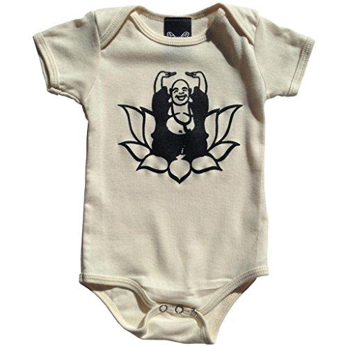 - YoungPunks Baby Happy Buddha Onesie 12-18 Months Natural Organic