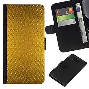 KLONGSHOP // Tirón de la caja Cartera de cuero con ranuras para tarjetas - Patrón Placa brillante reflectante - Samsung ALPHA G850 //