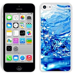 New Beautiful Custom Designed Cover Case For iPhone 5C With Water Blue Background (2) Phone Case