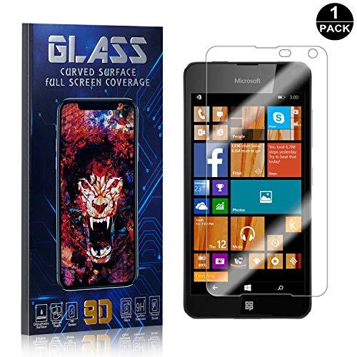 - Nokia Microsoft Lumia 650 Screen Protector, UNEXTATI Premium HD [Anti Scratch] [Anti-Fingerprint] Tempered Glass Screen Protector Film for Nokia Microsoft Lumia 650 (1 Pack)
