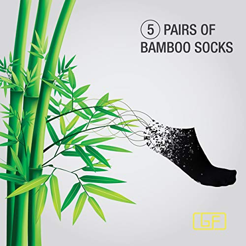 Golden Feel Bamboo Men Socks (White), Medium