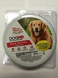 Maximum Defense Flea and Tick Collar for Large Dogs