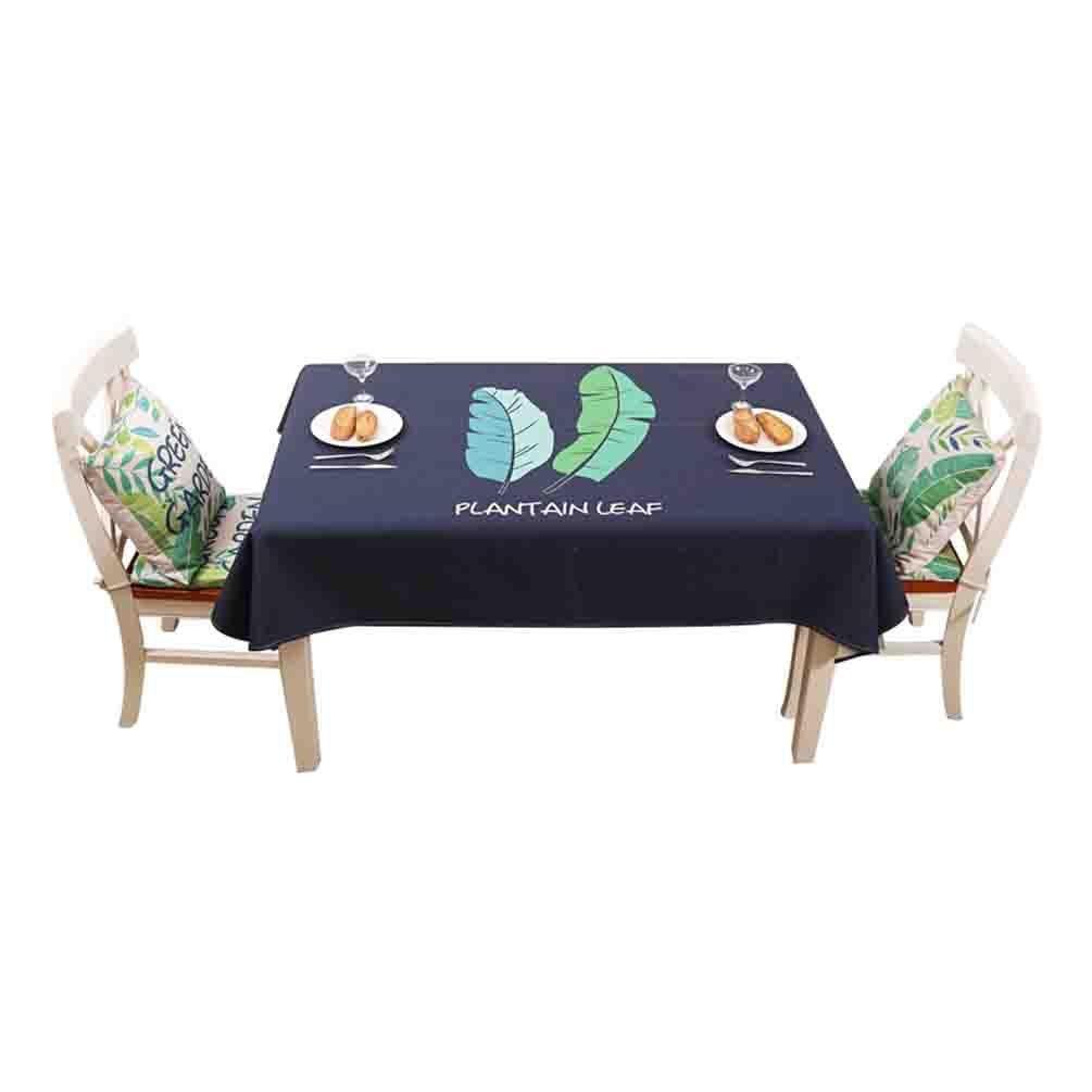 tienda Manteles de de de algodón fresco verde mesa de centro estera de tabla de tela de comedor estera , 001 , 140190cm  marca famosa
