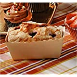 Easy Bake Paper Mini Loaf Pans - Small Rectangle Loaf 3 1/8'' x 1 9/16''x 1 5/8''- Beige - 25pcs