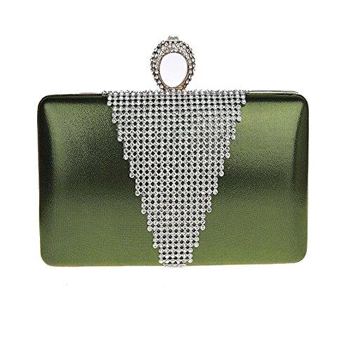 ANDAY - Cartera de mano para mujer morado morado talla única verde