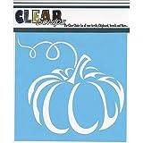 CLEARSNAP Clear Scraps Stencils, 6 x 6, Pumpkin