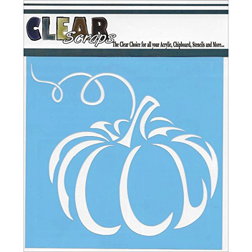 CLEARSNAP Clear Scraps Stencils, 6 x 6,