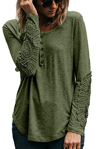 crochet detail tunic - 1
