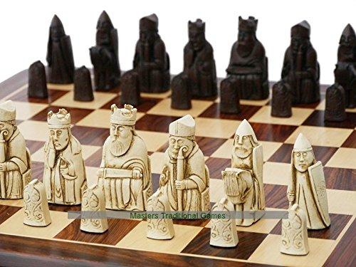 2019年新作 Berkeley Isle of Lewis Chess and Set (cream of and brown) brown) B072J4J1CH, 室蘭市:a5d75958 --- nicolasalvioli.com