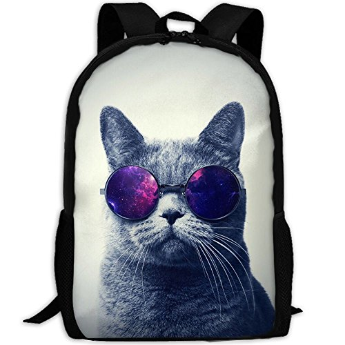 Cool Sunglass Cat Backpack Briefcase Laptop Travel Hiking School Bags Stylish Daypacks Shoulder - Sunglasses Oxford Street
