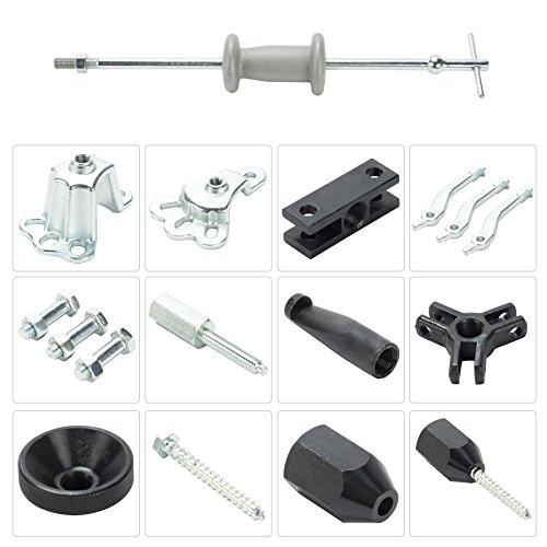 OrionMotorTech 9-Way Slide Hammer Puller Set, Front Wheel Hub Bearing Remover & Rear Wheel Axle Shaft Puller Tool Kit by OrionMotorTech (Image #5)