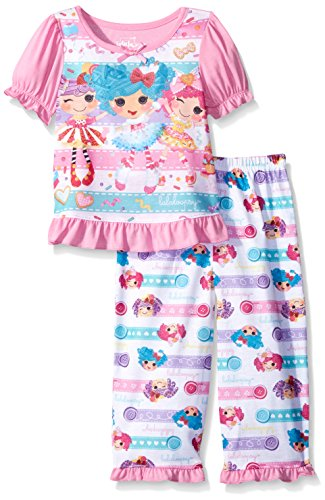 Komar Kids Little Girls' Toddler Lalaloopsy 2 Piece Pant Set, Pink, 2T