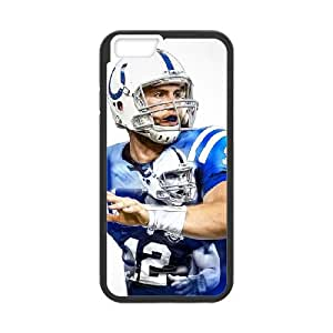 Indianapolis Colts iPhone 6 Plus 5.5 Inch Cell Phone Case Black persent zhm004_8562258