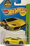 lamborghini huracan hot wheels - Hot Wheels 2015 HW Workshop Lamborghini Huracan LP 610-4 222/250, Yellow