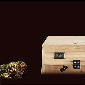 XBTECH Vivarium Repti-Home Terrario Natural Interior Reptil Roble ...
