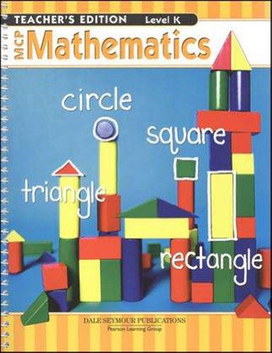 MCP MATHEMATICS LEVEL K TEACHER EDITION 2005C