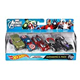 Hot Wheels Marvel Avengers Assemble Avengers 5-Pack