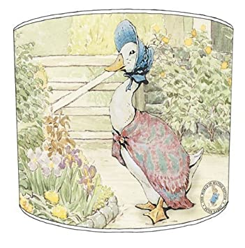 Premier lampshades ceiling beatrix potter jemima puddle duck premier lampshades ceiling beatrix potter jemima puddle duck childrens lamp shades 12 inch sciox Image collections