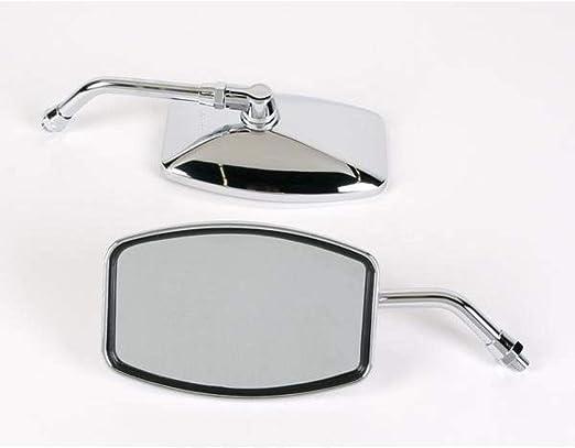 Universal Cruiser Mirror in.Big One,in H x 6 1//4in 10mm Threa W 4 1//4in