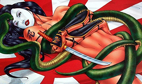 Billy Tucci's -Shi- Year of the Serpent Tin Litho 16x10 inch - Of Serpent Year The