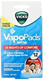 #9: Vicks Vapo Pad Family Pack, 12 Count