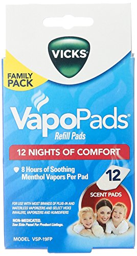 (Vicks Vapo Pad Family Pack, 12 Count)