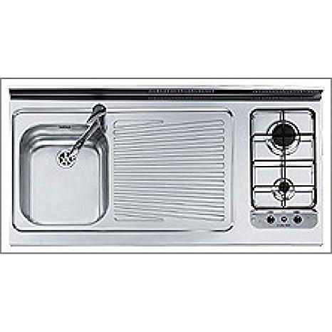 Jollynox Monoblocco 1u12012dve Appoggio 120x60 Cucina Lavello Piano