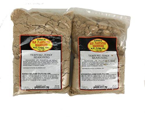A.C. Legg - Teriyaki Jerky Seasoning for 50 Pounds of Meat,