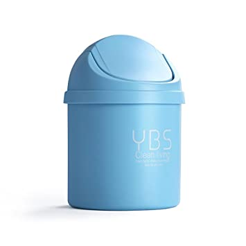 Amazoncom Aolvo Tiny Desktop Garbage Cantiny Trash Can With Lid