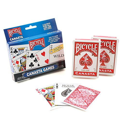 Novelty Baraja Bicycle Canasta 2 Mazos Cartón Plastificado