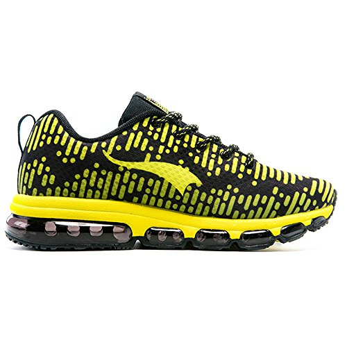 Series Running yellow Breathable Black Sneakers amp; Trainers Generation Rhythm Onemix Men's Women's Shoes The Air Second pqA7BA