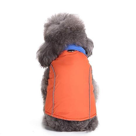 BBsmile Abrigo de Invierno para Perro Impermeable con Forro Polar cálido para Cachorro, Sudadera con