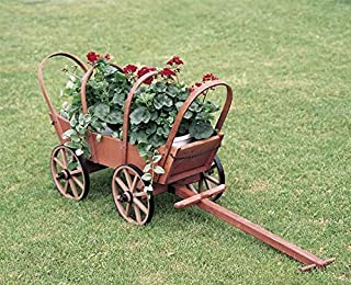 product image for DutchCrafters Amish Traditional Covered Wooden Wagon