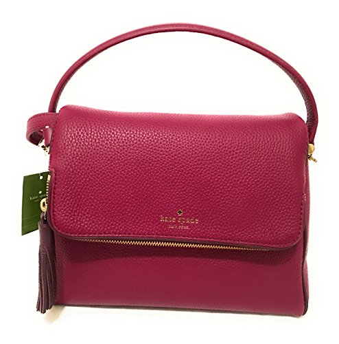 Kate Spade New York Chester Street Miri Pebbled Leather Shoulder Bag Rioja by Kate Spade New York