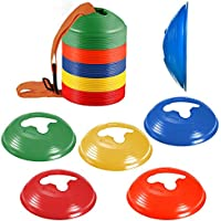 KEVENZ 50-Pack Soccer disc Cones,More Thicker, More...