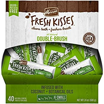 Amazon.com : Merrick Fresh Kisses Coconut Oil + Botanicals