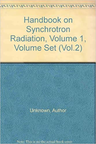 Handbook on Synchrotron Radiation, Volume 1, Volume Set