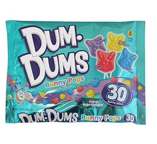 Dum Dums Easter Bunny Pops, 30 Count - 10.5oz