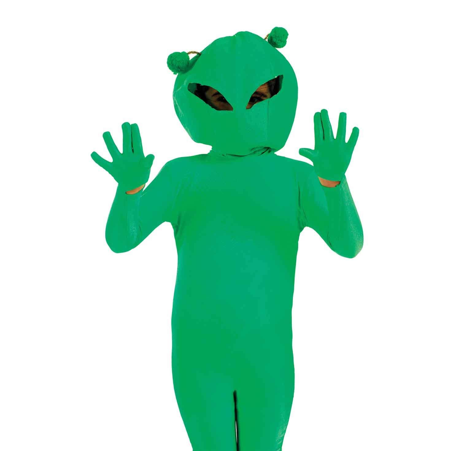 Amazon.com: Disfraz divertido para niños, color verde ...