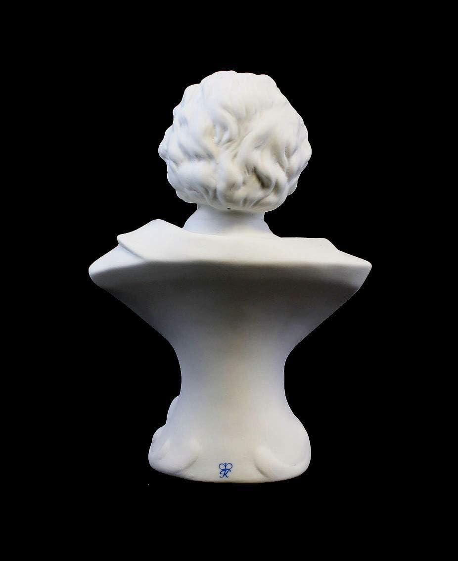 Porzellanfigur B/üste Ludwig van Beethoven gro/ß