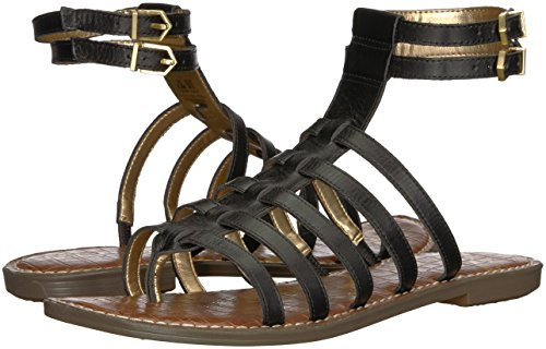 Gladiator Gilda Women's Sandal Edelman Sam Black Leather Bq7Fxtp0w