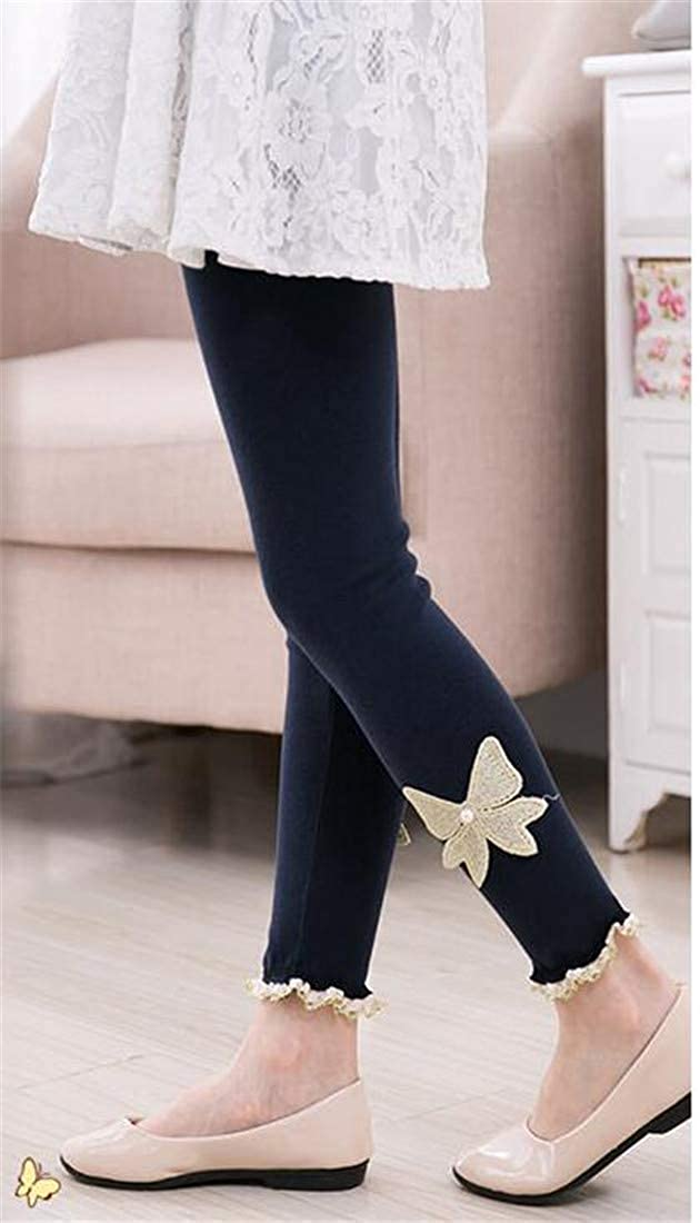 XXBlosom Girls Classical Slim Fit Warm Trousers Fleece Cute Legging