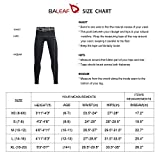 BALEAF Youth Boys' Compression Pants Base Layer