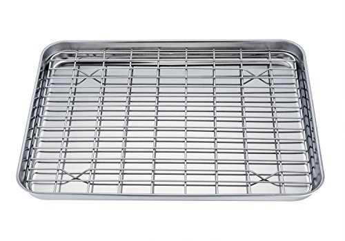 pan roasting rack of half small gorgeous with shelf for sheet size baking pans racks