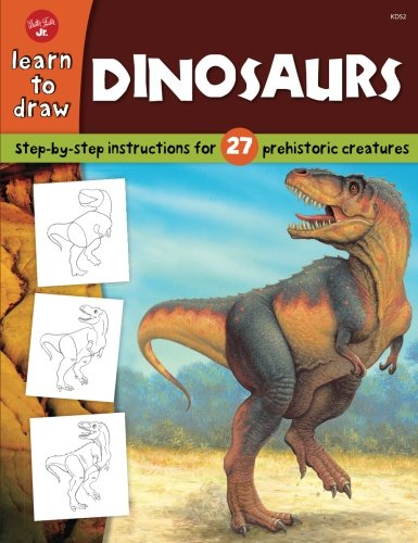 Dinosaurs (Learn to Draw) (Drawing Dinosaurs About)