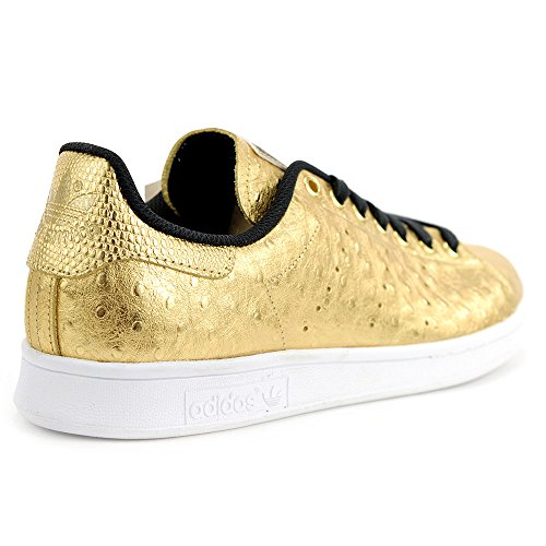 adidas Mens Smith Shoes adidas AQ4705 Gold Metallic Ostrich Stan Mens gR5Hwvqx