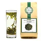 ELITEA Green Tea Loose leaf Quality Dragon Well Green Tea Xi Hu Long Jing China Famous Green Tea Bulk 7.1 Ounce For Sale